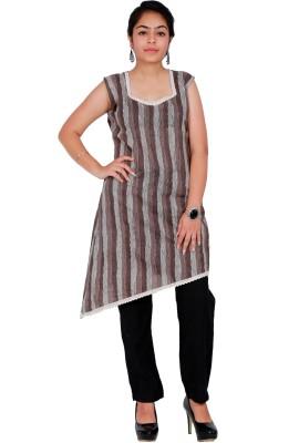 Unikstop Casual Striped, Geometric Print, Printed Women