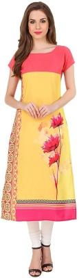 Glance Designs Festive & Party Floral Print, Printed Women Kurti(Multicolor)