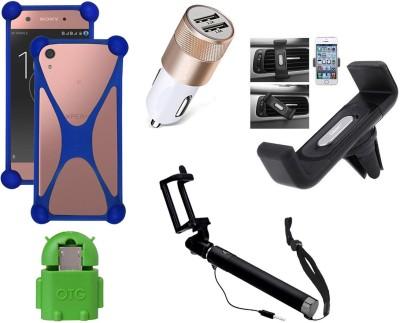 Aspir Case Accessory Combo for Motorola Moto G4 Plus(Black)