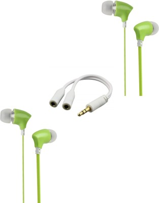 RediGo Headphone Accessory Combo for Xiaomi Redmi Note 4 White, Green RediGo Mobiles Accessories Combos