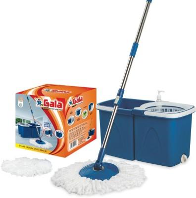 28 Off On Gala Twin Bucket Spin Mop Set On Flipkart