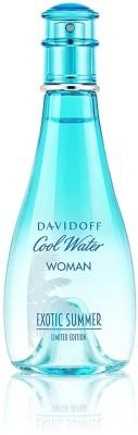 Davidoff Cool Water Exotic Summer Limited Edition Eau de Toilette  -  100 ml(For Women)