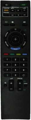 PARSHWA 23 Compatible LED/LCD Sony TV Remote Controller(Black)