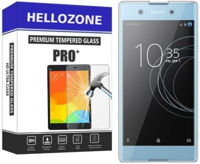 Hello Zone Tempered Glass Guard for sony XA1 Plus