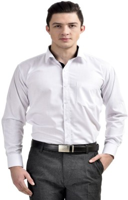 Frankline Men's Solid Formal Shirt