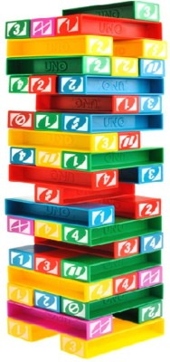 Krypton UNO STACKO Stacking Block Game/Toys/Family Game(Multicolor)