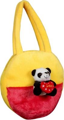 Tickles Panda Hand Purse Soft Stuffed For Kids - 25 cm(Multicolor)