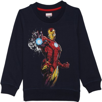 Avenger Full Sleeve Printed Boys Sweatshirt