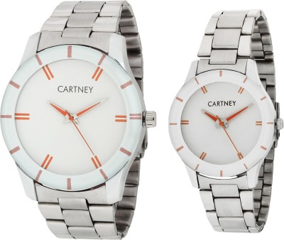 Cartney CTYPRSTLWHT324 SDF42 Watch  - For Men & Women   Watches  (cartney)