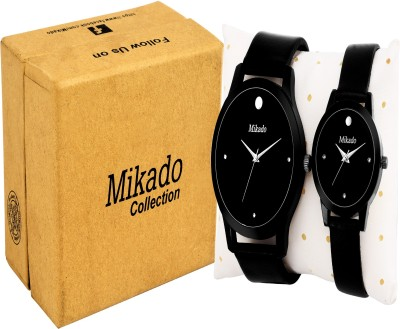 Mikado Millionaire fashion and Exclusive couple watches combo for men and Women with 1 year warrenty Watch  - For Couple