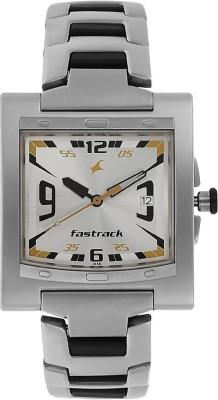 Fastrack NG1229SM04 Essentials Gents Watch (NG1229SM04)