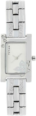 Titan Raga Moonlight Mop Analog Mother of Pearl Dial Women