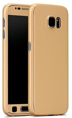 4 ur Fone Flip Cover for Motorola Moto G5s Plus(Gold, Artificial Leather)