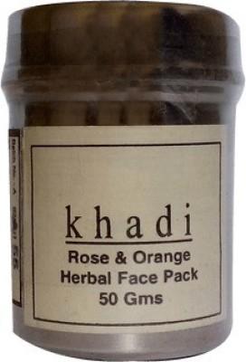 Khadi Herbal rose & orange face pack 50grams(50 g)  available at flipkart for Rs.100