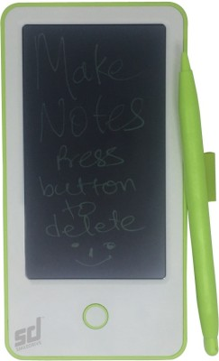 """Smiledrive Ultra Compact 5"""" E-Writer LCD Writing Pad Tablet Paperless Memo Portable Digital Notepad-Free Stylus for Writing & Drawing Digital Paperless LCD Writing Notepad with Stylus 7.5 x 0.5 inch Graphics Tablet(Green)"""