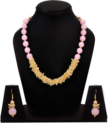 Sitashi Glass Jewel Set Multicolor Sitashi Jewellery Sets