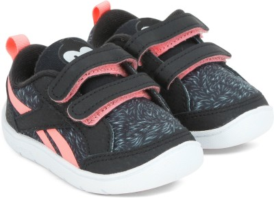REEBOK Boys & Girls Velcro Casual Boots(Black)