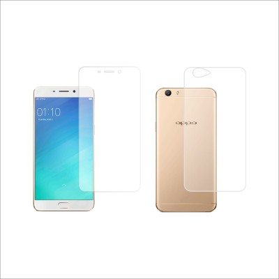 Case Creation Front and Back Screen Guard for OppoF1S(Pack of 2)