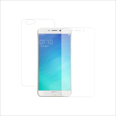 Case Creation Front and Back Screen Guard for Oppo A59, Oppo F1s(Pack of 2)