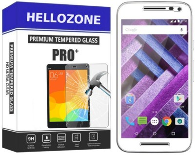 Hello Zone Tempered Glass Guard for Motorola Moto G (3rd Generation)(Pack of 1)