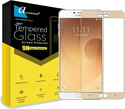 Ascension Tempered Glass Guard for Samsung Galaxy C9 Pro(Pack of 2)