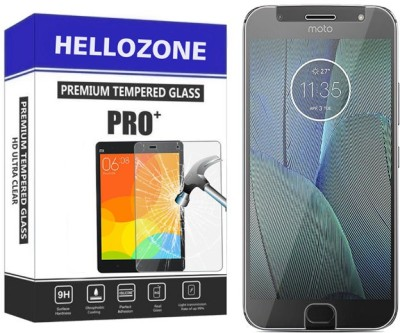 Hello Zone Tempered Glass Guard for Motorola Moto G5s Plus(Pack of 1)