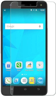 EASYBIZZ Tempered Glass Guard for Micromax Canvas Juice 4G(Pack of 1)