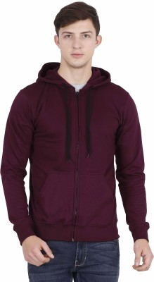 FLEXIMAA Round Neck Solid Men Pullover