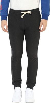 Realm Self Design Men Grey Track Pants at flipkart