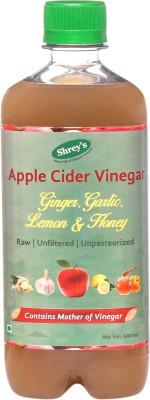 Shrey's Natural & Unfiltered with Mother of Vinegar Apple Cider Vinegar(Apple Flavored)
