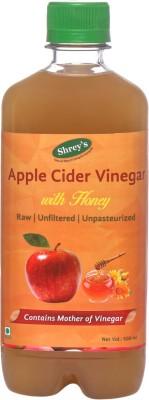Shrey's With Honey | Natural & Unfiltered with Mother of Vinegar Apple Cider Vinegar(Apple Flavored)