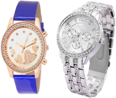 GT Gala Time Diamond Studded Chronograph Dial Design Watch  - For Girls