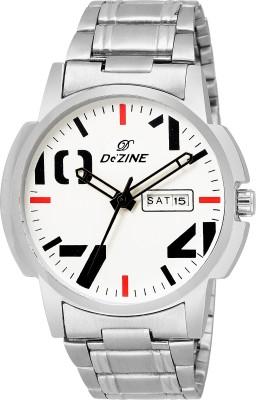 Dezine DZ-GR1196-WHT-CH  Analog Watch For Men