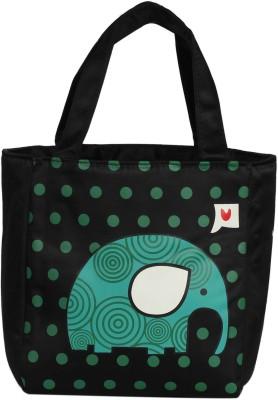 Ez life Kids Thermal Lunch Bag Fun Size   Ecstatic Elephant   Blue Waterproof Lunch Bag Multicolor, 5 L Ez life Bags, Wallets   Belts
