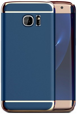 SPL Back Cover for SAMSUNG Galaxy S7 Blue, Shock Proof SPL Plain Cases   Covers