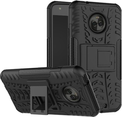 S-Fancy Back Cover for Motorola Moto X4(Black, Plastic)