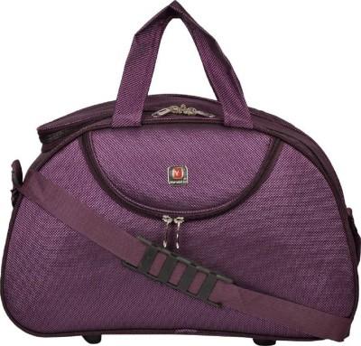 85% OFF on Inte Enterprises (Expandable) purple01 Travel Duffel Bag(Purple) d985de30f50d3