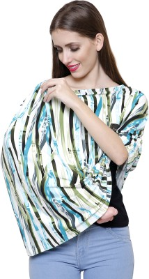 feather hug 360° Nursing Cover, Shopping Cart, High Chair, Stretchy Infinity Scarf and Shawl Feeding Cloak(Multicolor)  available at flipkart for Rs.990