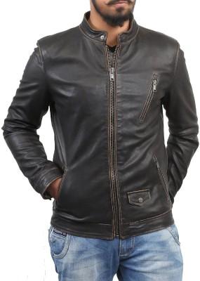 Bare Skin Full Sleeve Solid Men Jacket