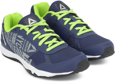 b4d441df54cca3 55% OFF on REEBOK Boys Lace Running Shoes(Blue) on Flipkart ...