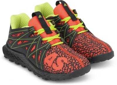 ADIDAS Boys & Girls Lace Running Shoes(Orange)