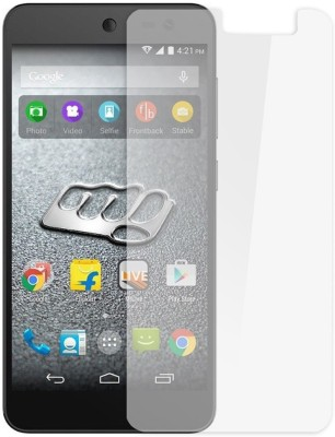 Exclusivebay Tempered Glass Guard for Micromax Bolt D303