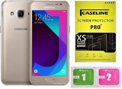 Caseline Tempered Glass Guard for Samsung Galaxy J2(2017)(Pack of 1)