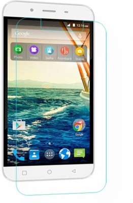 Balaji Shoppers Tempered Glass Guard for Micromax Canvas Mega Q353