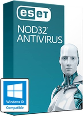 ESET ESET NOD32 Antivirus 2017 (10PC / 1Year) Latest Version Antivirus