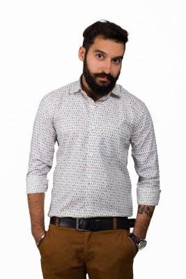 Leebazone Men's Printed Casual Multicolor Shirt