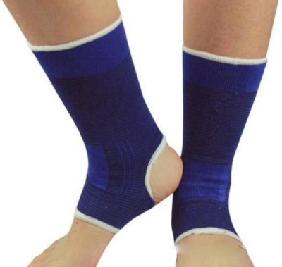 Trendmakerz SMART ANKLE SUPPORT Elbow & Ankle Support (Free Size, Blue)