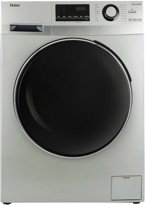 Haier 6.5 kg Fully Automatic Front Load Washing Machine Grey(HW65-B10636NZP) (Haier)  Buy Online