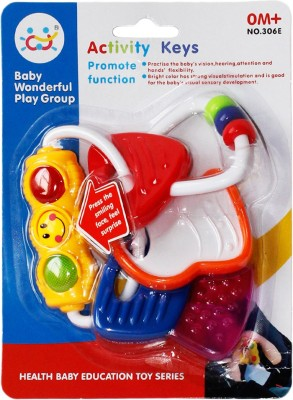 Toys Factory Kids Activity Set In many Colours Rattle(Multicolor)