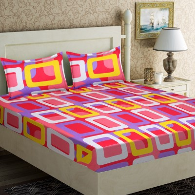 75 off on iws 104 tc cotton double printed bedsheet 1 for Beds 80 off